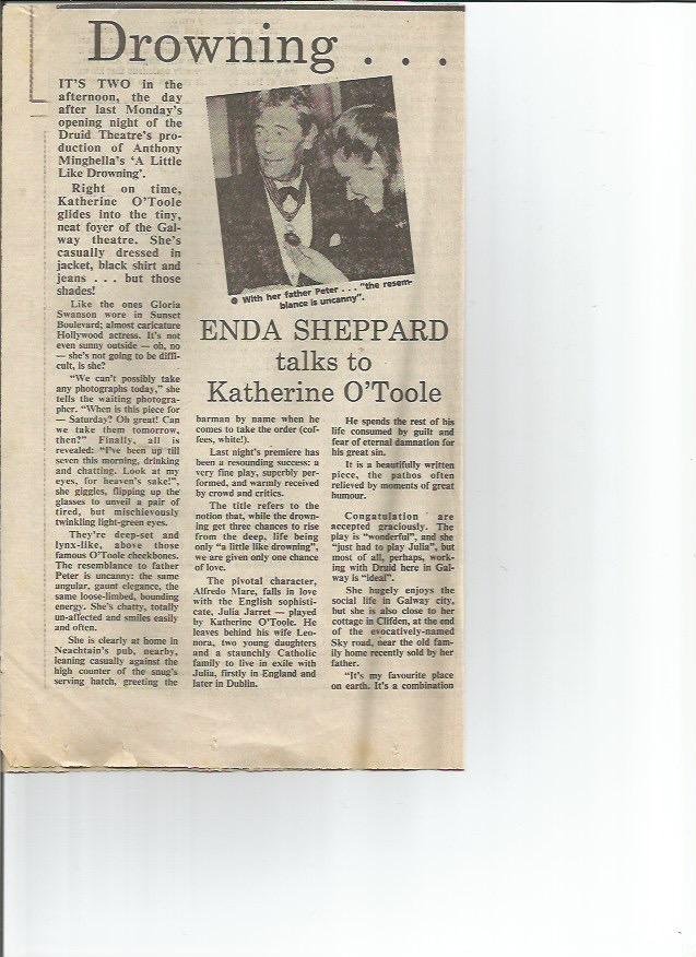 Kate O'Toole 1 1