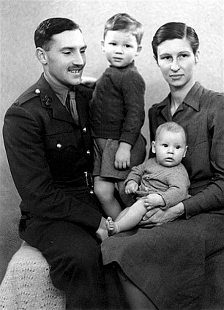 Family photograph Roger Waters
