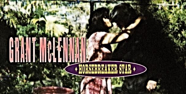 album cover Horsebreaker Star Grant McLennan