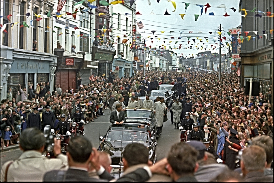 JFK IN GALWAY (1)