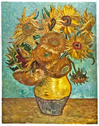 Van Gogh Sunflowers (1)