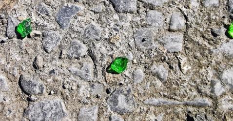 Emeralds wasteland